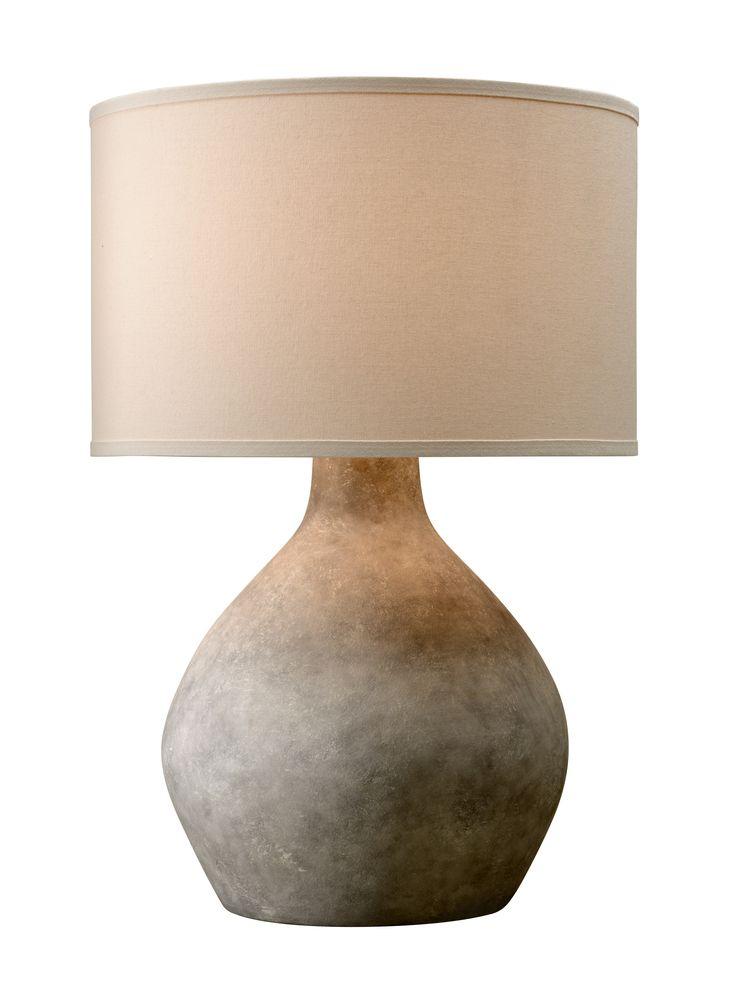 Zen 1lt Table Lamp 52 Ptl1008 In 2021 Table Lamp Lamp Troy Lighting