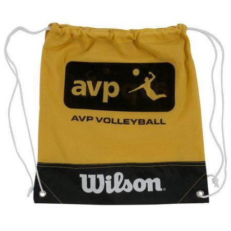 Wilson Sporting Goods AVP Volleyball Cinch Bag