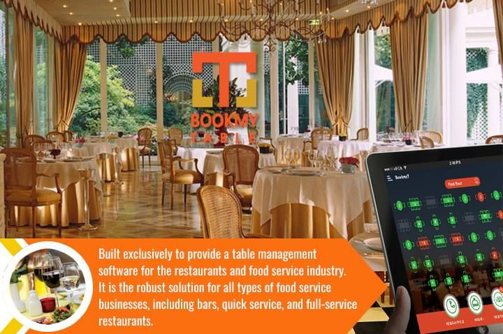 Bookmyt Is The Best Restaurant Management Solution Bookmyt Is A - Restaurant table cost