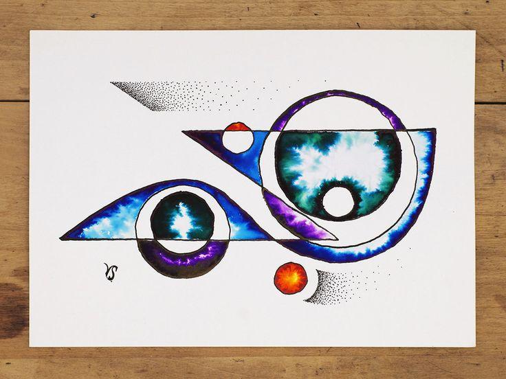 Ink and watercolor design by InkingArt.deviantart.com on @DeviantArt