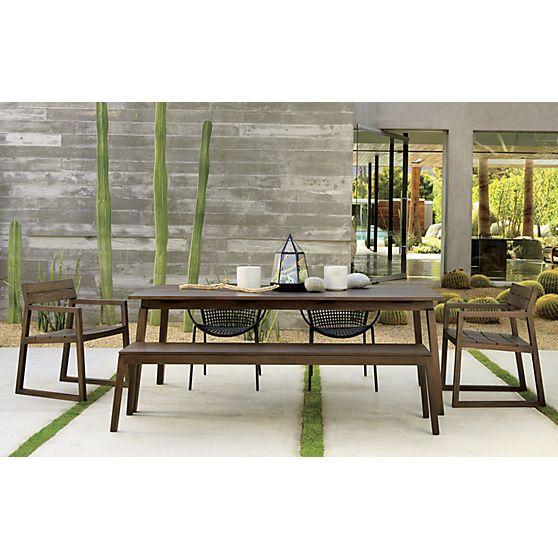 Apollo Dining Table | CB2. Outdoor ...