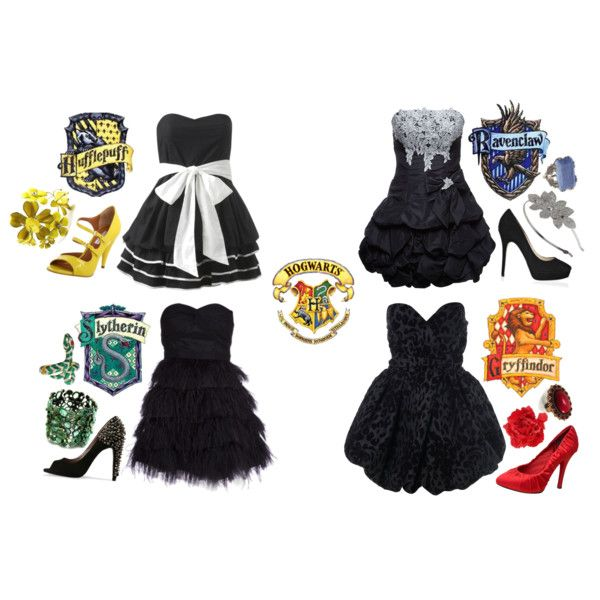 Hogwarts Prom, created by #franthenanny on #polyvore. #fashion #style Miss Selfridge Forever Unique