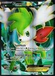 Name: Shaymin-EX Manufacturer: Nintendo / GameFREAKS Series: Next Destinies Release Date: February 2012 Card Number: 94 Card Rarity: Super Rare Condition:  Details (Description): Grass *Notes: Cards may be normal or reverse foil we do not differentiate between the two.