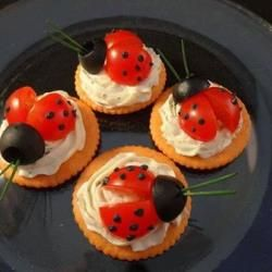 Coccinelle apéritive @ allrecipes.fr