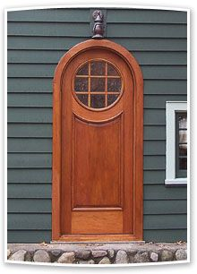 Arch and Round Top Exterior Door | G165RTCP Model | .VintageDoors.com & 10 best Round \u0026 Arch Top Doors images on Pinterest | Entrance doors ...