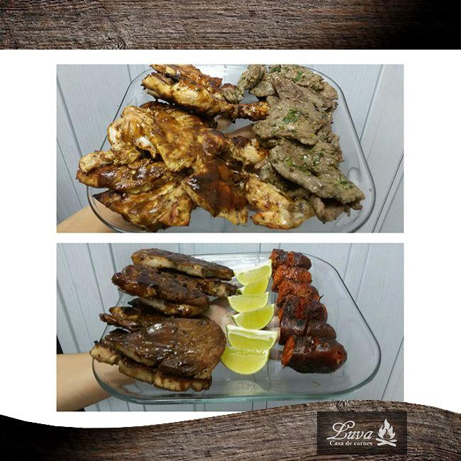 Nuestras parrilladas cuentan con ese delicioso y único sabor que solo en Luva puedes encontrar.