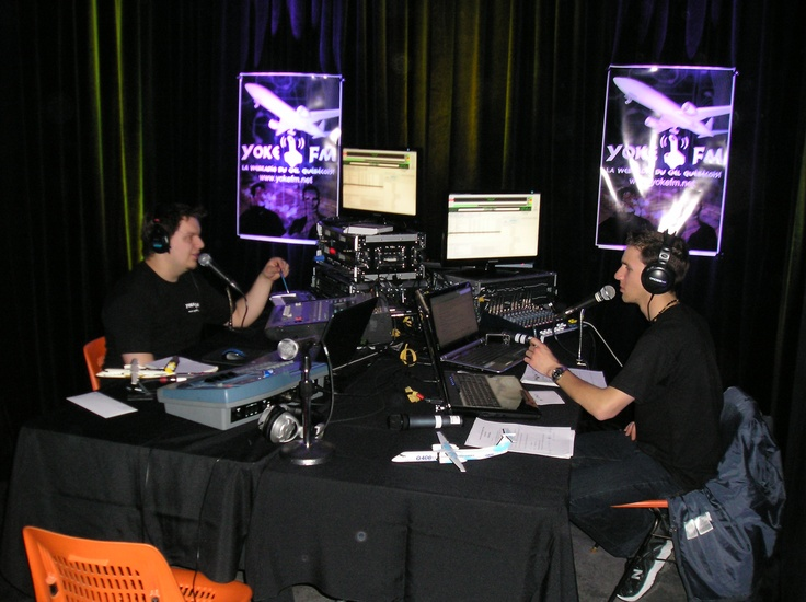 Yoke FM, la radio WEB du cielquebecois.
