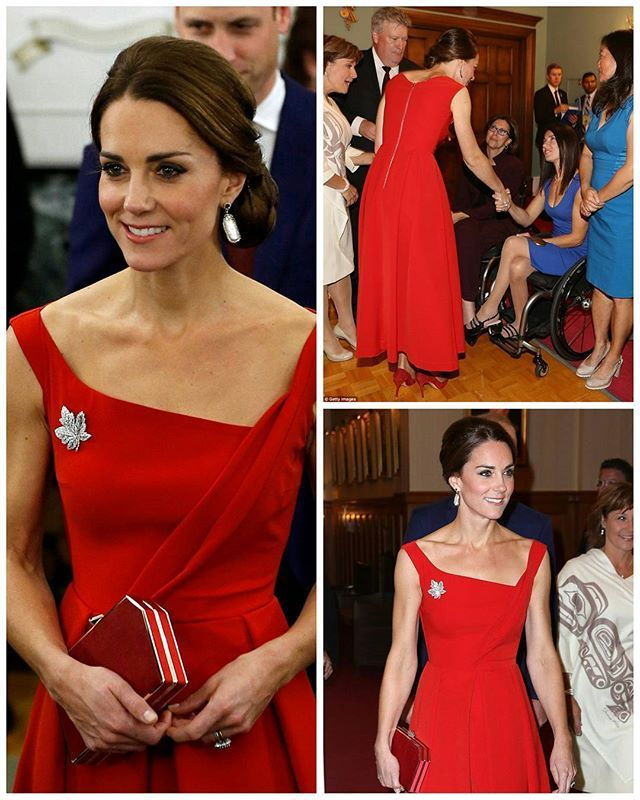 #NEWS#NEW #TODAY The Duke and Duchess of Cambridge attended the historic reconciliation ceremony with Canadian First Nations groups at Government House in Victoria. Kate wore a red gown byPreen by Thornton Bregazzi. 26 September 2016  #thirddayoftheroyaltour  #royaltourofcanada . . . . . . . . . . . #picoftheday #postoftheday #bestoftheday #Katemiddleton #kate #middleton #theduchess #duchessofcambridge #royals #Catherine #elizabeth #princewilliam #beautiful #princesskate #lovely…