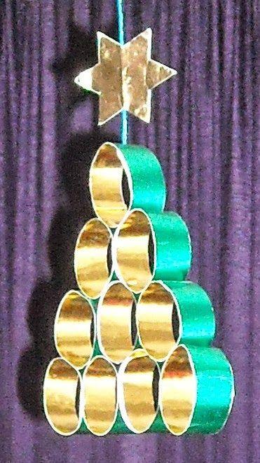 35 Υπέροχες Χριστουγεννιατικες κατασκευες από ανακυκλώσιμα υλικά - Daddy-Cool.gr