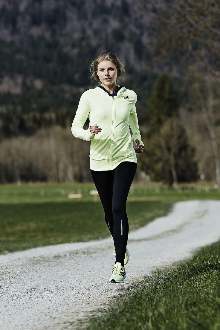 adidas Damen Laufbekleidung / Laufoutfit Herbst / Winter 2015
