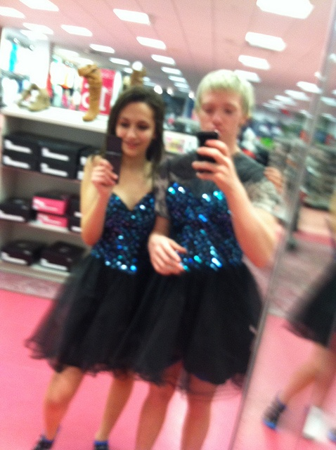 She Talked Him Into Trying On The Dress Bet It Is Not The