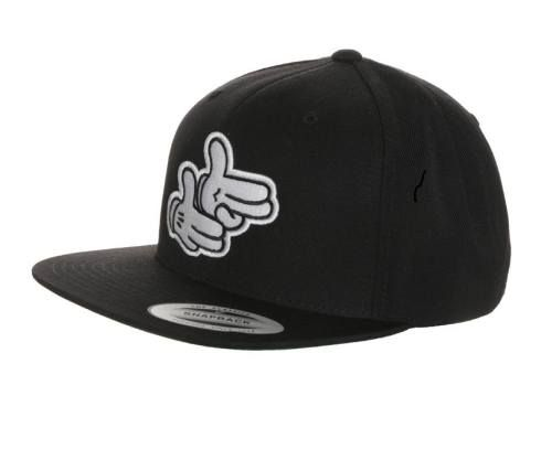 Flexfit Pistol Hands Gorra Black complementos Pistol Hands Gorra Flexfit black Noe.Moda