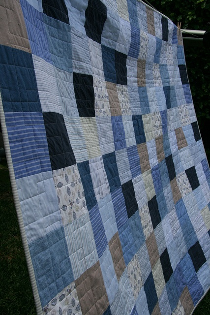 boy quilt, I like the colors and that it looks like something they would use a long time