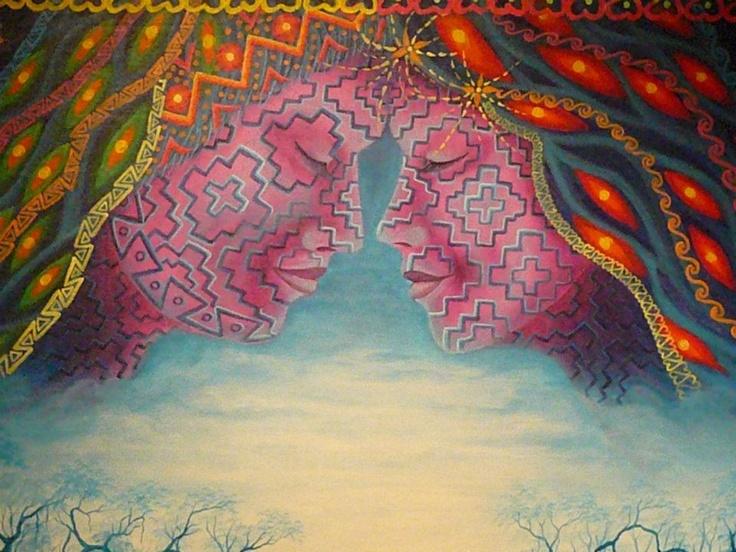 Arte que florece y cura - Alumnos de NYI Esc. de arte (Iquitos, Perú) - Palais de Glace (Buenos Aires):   http://www.facebook.com/media/set/?set=a.10151009836926421.472926.163209071420=3
