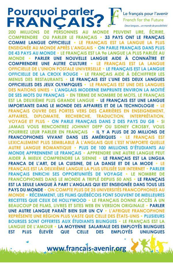 De la nécessité de parler français !