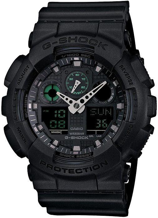 #Czarny #zegarek #casio #G-SHOCK ze strony http://www.zegarek.net/zegarki/meskie/index.html