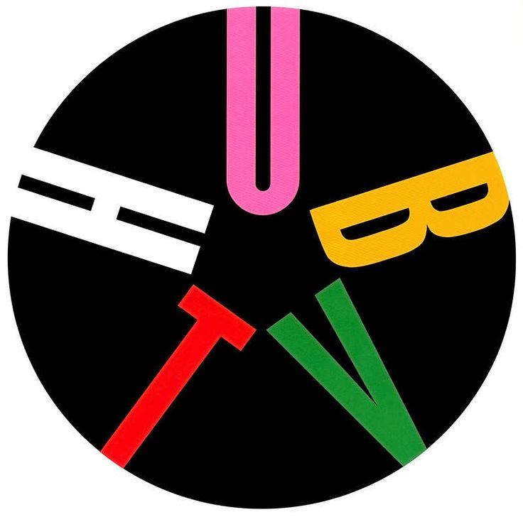 Hub TV logo designed by Paul Rand. (1995).