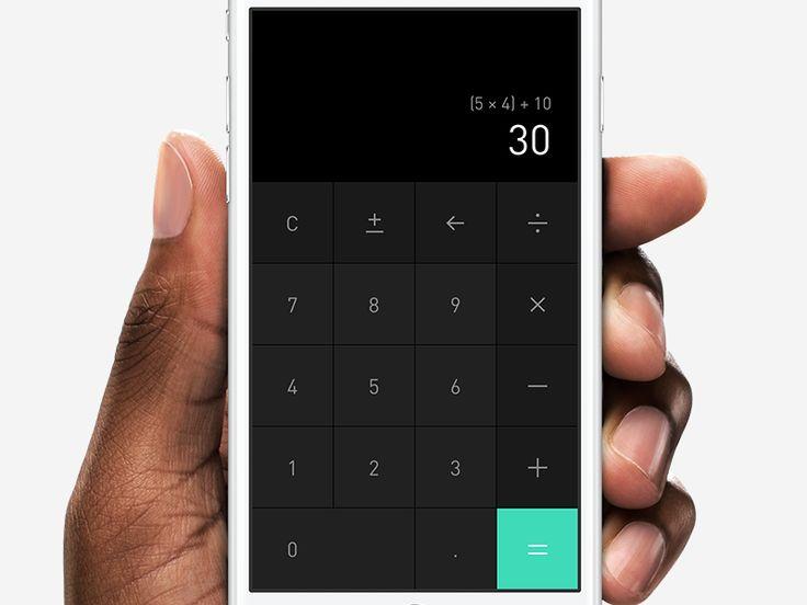 Dark Calculator by Alexander Haniotis