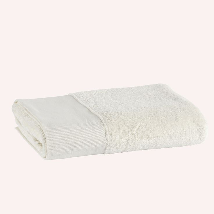 Coco-Mat towel Cassiope in white