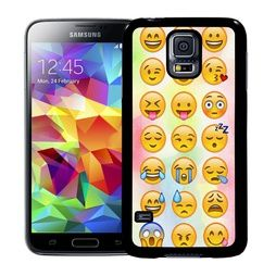 Samsung Galaxy S5 / S5 NEO Mobilskal Emojis Faces