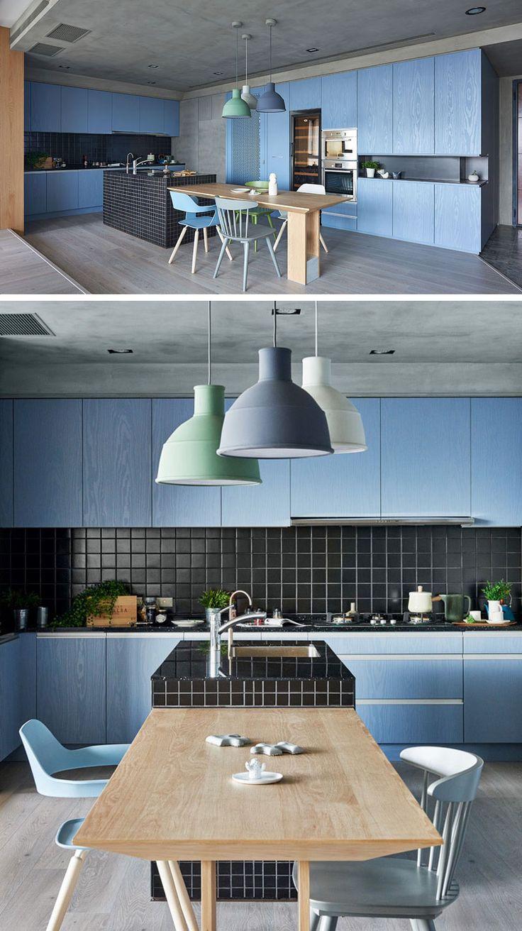 25 best ideas about Blue Kitchen Cabinets on PinterestBlue