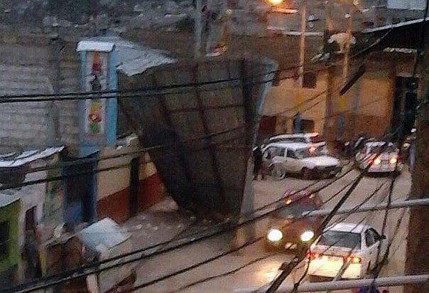 Fenómeno climático asusta en Abancay