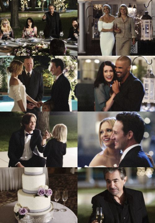 Criminal Minds JJ and Will's wedding - no one has ever made getting married look so effortlessly beautiful