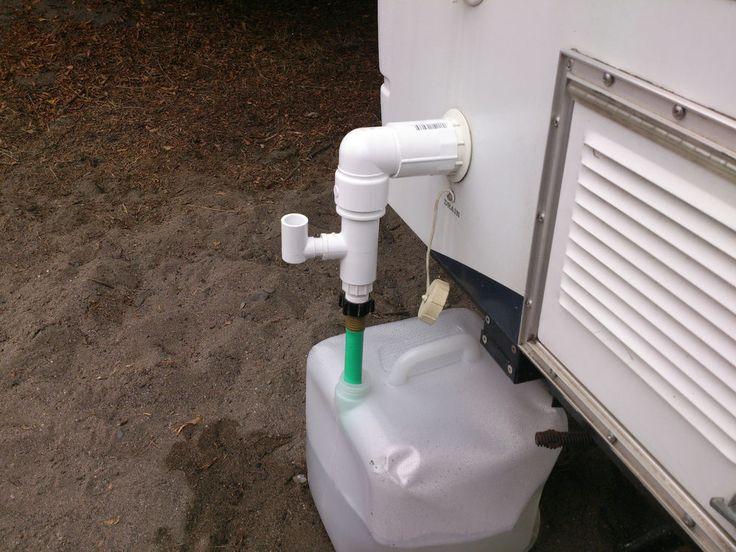 Sink Drain Fleetwood Coleman Popup Tent Camper Trailer