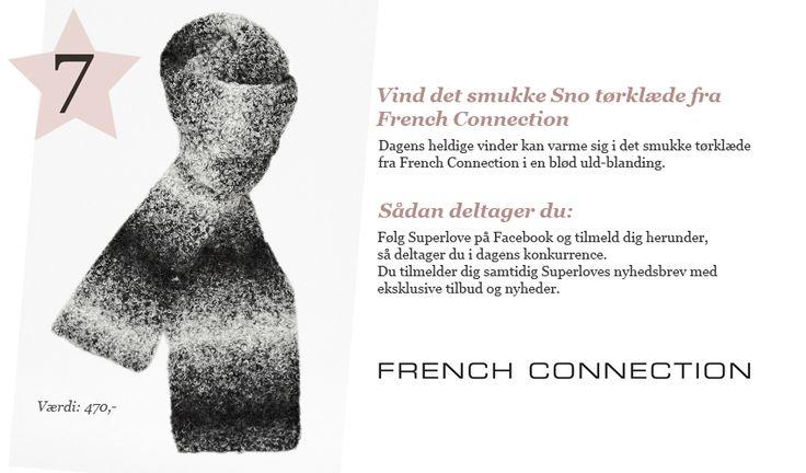 French Connection halstørklæde #superlove