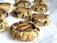 Rezepte mit Herz ♥: Chocolate Turtle Cookies - Schokoladen Karamell Kekse