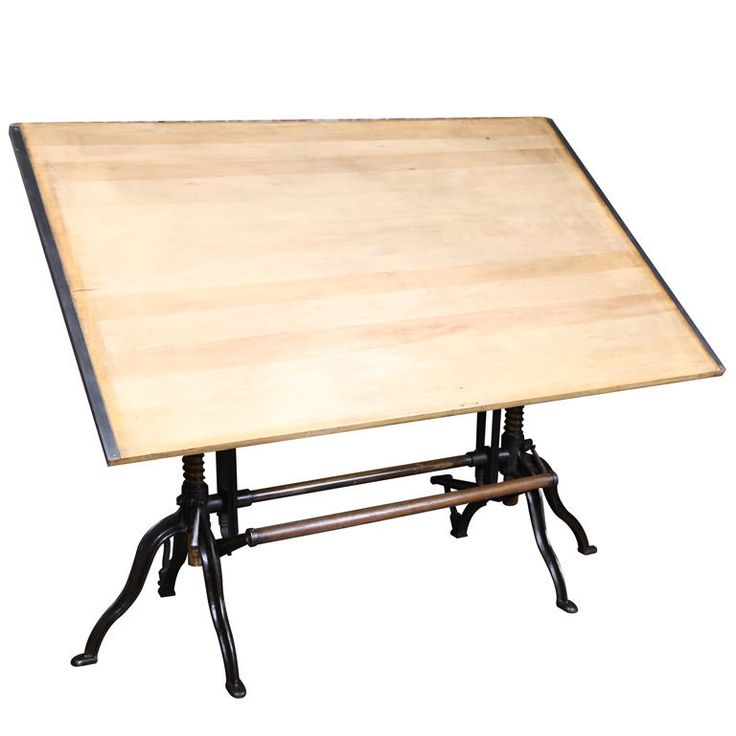 9 Best Antique Drafting Tables Repurposed Images On