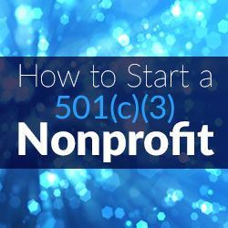Learn actionable steps on how to set up your nonprofit. From properly organizing and attaining a 501(c)(3) tax exemption to other very important steps.