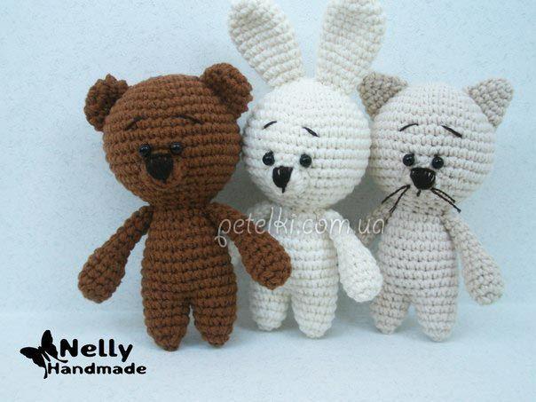 Игрушки крючком от Nelly Handmade. Описание вязания