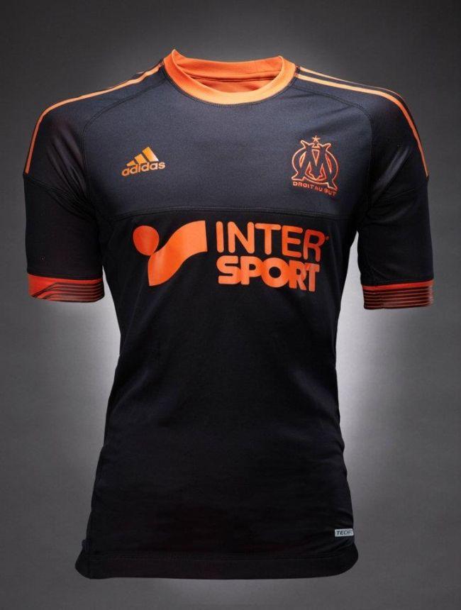 Uniforme Alternativo do Olympique de Marselha
