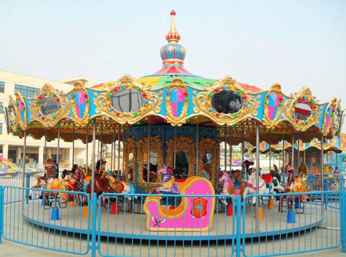 Vintage Carousel For Sale Carousel Riding Amusement