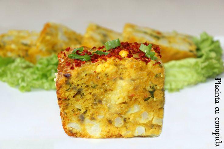 Reteta placinta cu conopida   Retete aperitiv - Adygio Kitchen
