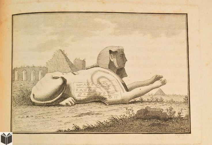 Johann Joachim Winckelmann HISTOIRE DE L'ART CHEZ LE ANCIENS c1861 Antique Ancient Greek & Egyptian Art History Engraved Plates Sphinx Sculpture Classical