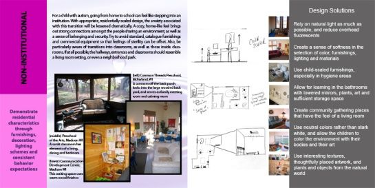 Classroom Design For Living And Learning With Autism ~ Melhores imagens de centros reabilitação autismo no