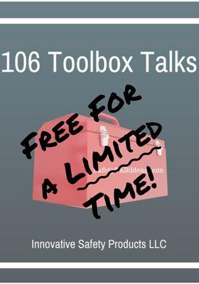 Free Toolbox Talk e-book