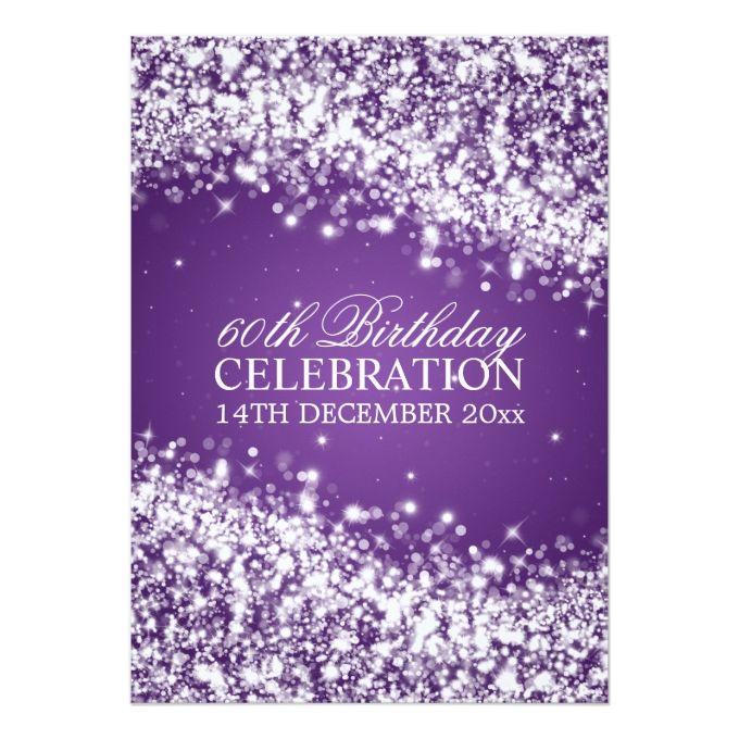 1404 best 60th Birthday Invitations images – Buy Birthday Invitations