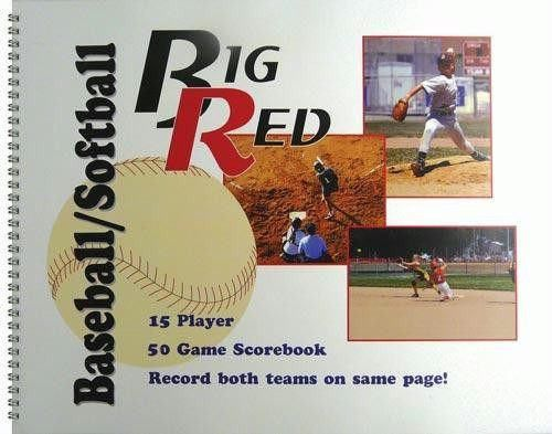 Baseball/Softball Scorebook (15 Player)