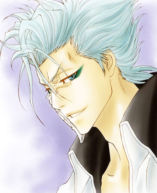 Grimmjow bleach...I can't get enough of him