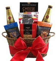 Beer Nibbles Gift Basket