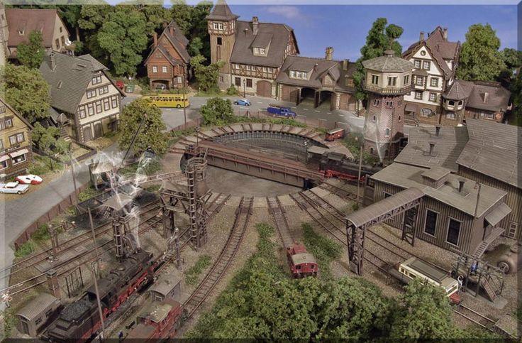 Das Bahnbetriebswerk