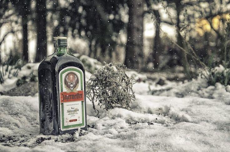 Егермейстер хорош зимой.