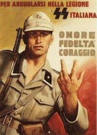 Cartel propaganda de laItalia Fascista -1