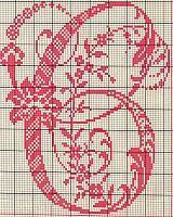 Ancient old cross stitch alphabet (3)