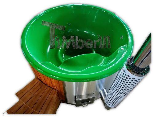 Badetonne Mit Integriertem Ofen Thermo Holz