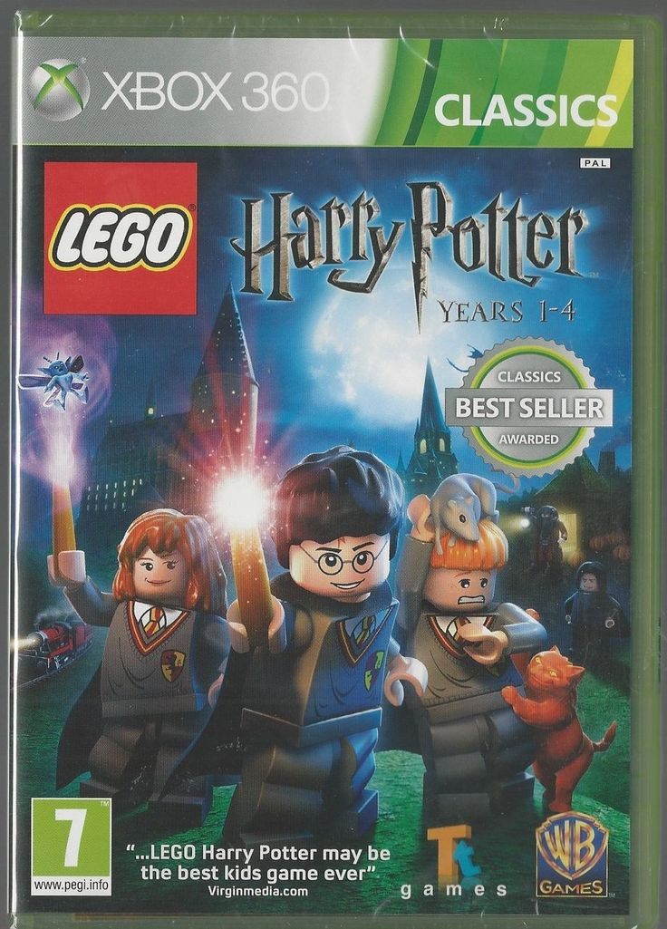 Xbox 360 Lego Harry Potter 1-4 BRAND NEW via esteetshops video games. Click on the image to see more!