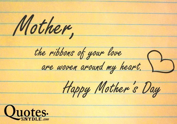 Wifes Saying On Mothers Day Sayings: Quotes Of The Day